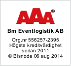 Solditet AAA - 2014-08-06 (BM Eventlogistik AB)